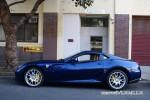 Blue   Public: Blue Ferrari 599 GTB In Sydney