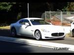 Maserati   Public: White Maserati Grandturismo in Sydney
