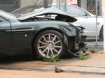 Exotic   Public: Aston Martin crash
