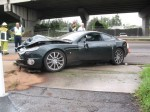 Hill   Public: Aston Martin crash