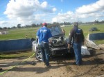 Photos porsche Australia Public: Porsche Turbo Crash at Winton - front