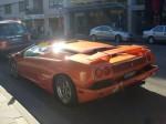 Public: Lamborghini Diablo VT Roadster in Double Bay