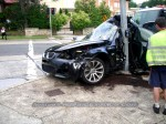 Bmw   Public: BMW M5 Crash