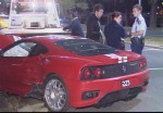 Photos crash Australia Public: Ferrari Challenge Stradale Crash in Melbourne