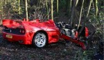 Ferrari   Public: Ferrari F50 Crash - Holland
