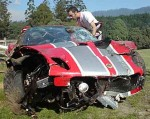 Crash   Public: Lotus Exige Sport 240 Crash - Targa Tasmania 2008