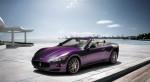 Cab   Public: Maserati GranCabrio Purple Hairdresser Spec