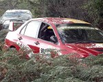 Photos crash Australia Public: Mitsubishi Evo Crash - Targa Tasmania 2008