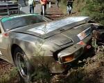 Crash   Public: Porsche 944 Crash - Targa Tasmania 2008