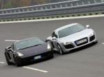Auto   Public: Lamborghini Gallardo vs Audi R8