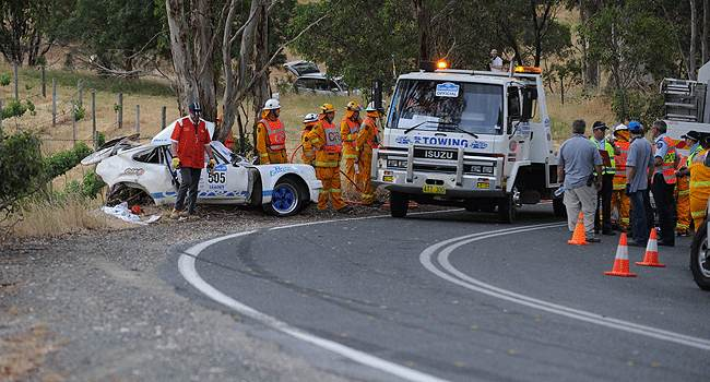 Classic Adelaide 2009 Porsche Crash Double Fatality Sports