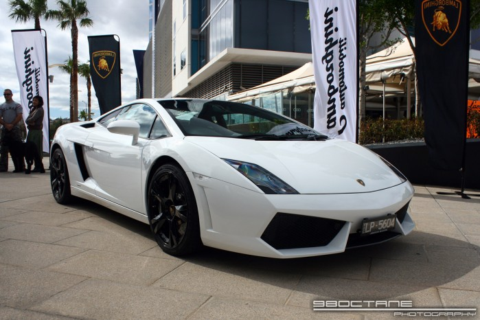Lamborghini Club Australia Melbourne Docklands Display
