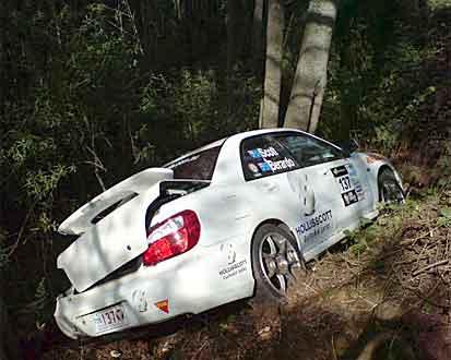 Targa Tasmania Crashes Lotus Exige Ferrari Porsche