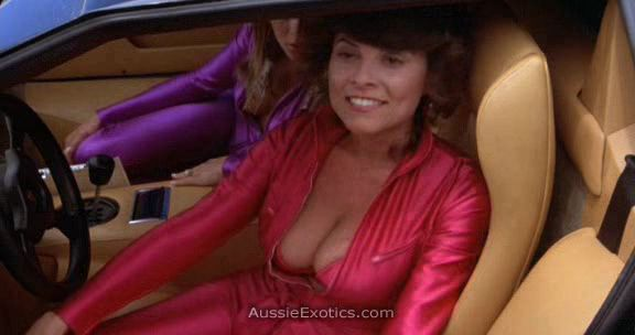 Cannonball Run The Goodest Bits Nice Cleavage Sports