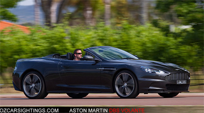 Aston Martin DBS Volante Wallpaper